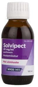 Solvipect Mikst 20 mg/ml, 100 ml | Halsmidler