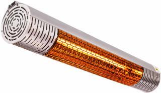 TUNDRA Terrassevarmer 2000W m/fjernkontroll (TUNDRA-1019)
