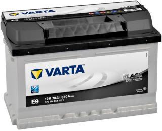 VARTA BATTERI Bilbatteri Black Dynamic E9 70Ah