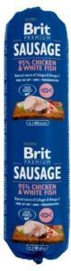 Brit pølse med fisk og potet 800g