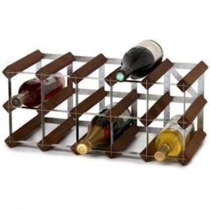 Traditional Wine Racks Vinstativ som kan bygges på 15 flasker