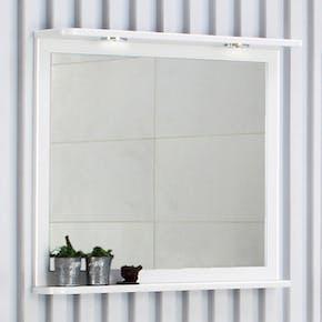 Speil Noro Fix Hvit Høyglans