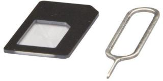 SIM-kortadapter Nano-SIM til Mini-SIM
