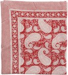 Chamois Duk Big Paisley Unisex Red