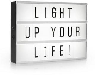 Smartwares LED Light box A3 med 85 tegn