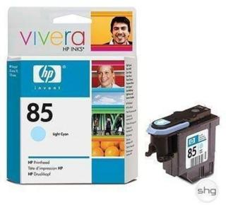 HP 85 Printhead Light Cyan - Skrivehode Light cyan C9423A