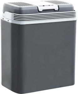 vidaXL Bærbar termoelektrisk kjøleboks 24 L 12 V 230 V A+++