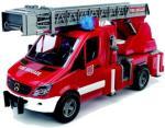 Bruder MB Sprinter brannbil med stige og vannpumpe - 02532