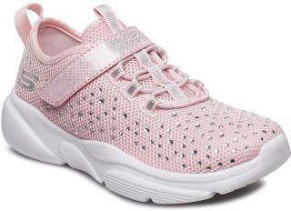 Skechers Girls Meridian - Best Intent Sneakers Sko Rosa Skechers