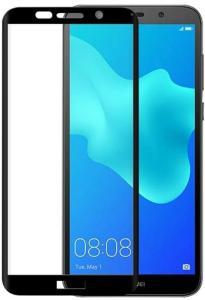 Gear Härdat Glas 3D Huawei Y5 2018 Edge To Edge Svart