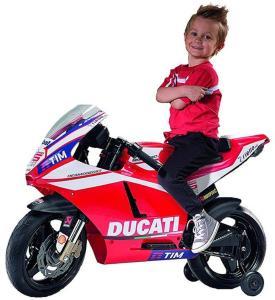Peg Perego Ducati Desmosedici GP Motorsykkel for barn - elektrisk - 12V