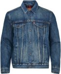 Levi's Jeansjakke Lined Trucker Jacket Men Med indigo - Worn inn