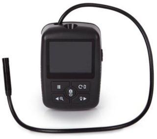 Kompakt inspeksjonskamera med LCD-display