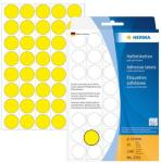 Herma Etikett 19mm gul 4008705022514 (Kan sendes i brev)