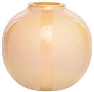 Dew kunstvase beige 19 cm Magnor Glassverk