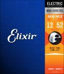 Elixir Nanoweb el-gitar 6str. (012-052) Heavy 12152