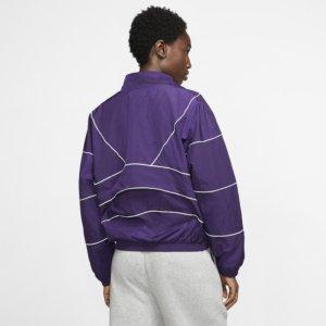 Nike treningsjakke til dame - Purple XL