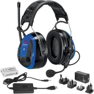 3M Peltor WS Alert XPI Hørselsvern med Bluetooth og mobilapplikasjon, issebøyle, ladepakke