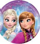Disney Frozen tallerken 20 cm - 8 stk