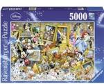 Ravensburger Puslespill 5000 Deler Disney Multiproperty