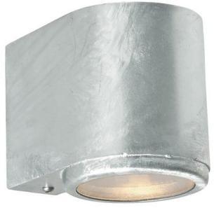 Mandal 1373 Vegglampe 3,9W LED Lys Ned Galvanisert Stål Norlys