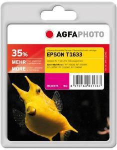 AGFAPHOTO magenta - compatible - gjenfabrikert - blekkpatron (alternativ for: Epson T1633, Epson 16XL, Epson C13T16334010) (APET163MD)
