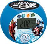 Marvel Avengers Klokke med Radio og Projektor