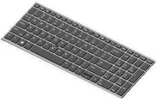 HP erstatningstastatur for bærbar PC - Italiensk (L14366-061)