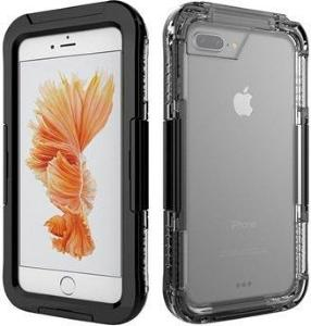 iPhone 7 Plus Vanntett Mobilpose - Svart