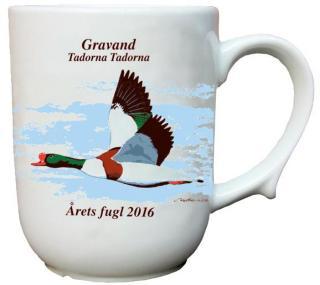 Gravand krus Årets fugl 2016