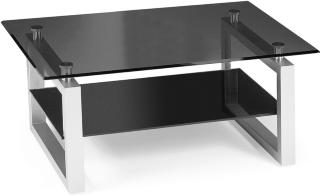 Scandinavian Choice Sala Sofabord 110 cm - Glass/Svart