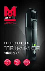 Moser Classic Cord/Cordless Trimmer