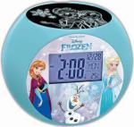 Disney Frozen Vekkeklokke Med Radio Og Projektor
