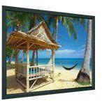 PROJECTA HomeScreen Wide Format - Projeksjonsskjerm - 139 in (354 cm) - 16:10 - Matte White - RAL 7021, gråsvart (10600181)