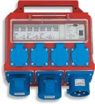 Malmbergs Undersentral 32A 230V IP44 (1578714)