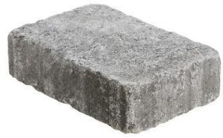 Aaltvedt Stein Rådhus Gråmix XL, 1/1 stein, tromlet, 6 cm tykkelse, fra Aaltvedt