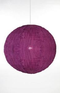 Globen Lighting Pendel Moon Mørklilla