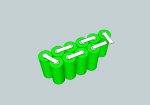 Batteri til Landmålerkikkert 12V 2150mAh NIMH HR-4/5AU