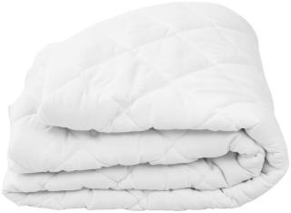 vidaXL Vattert madrassbeskytter hvit 90x200 cm tung