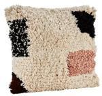 Madam Stoltz Cushion cover w/ fringes Madam Stoltz