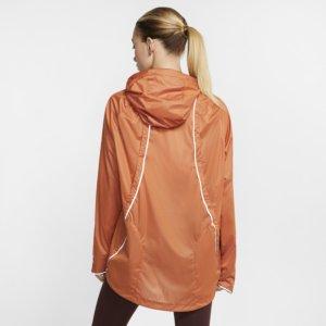 Nike Shield løpejakke til dame - Orange M