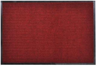 vidaXL Dørmatte 90 x 150 cm rød PVC
