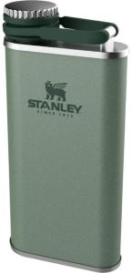 Stanley Classic Wide Mouth Flask 0.23L, Hammertone Green, OneSize