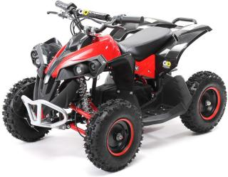 Mini ATV Reneblade1000w elektrisk sort-rød