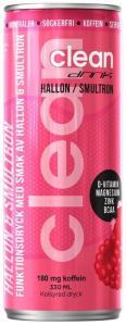 Clean Drink Hallon/Smultron 330ml