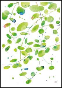 Bildverkstad Green Leaves - Green isle studio