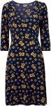 Saint Tropez Kjole Print Jersey Dress Women Chamois
