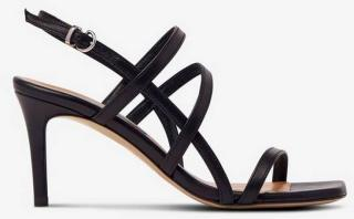 Apair Remsandaletter Women Black