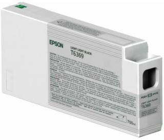 Epson T6369 Blekkpatron lys svart, 700 ml T6369 Tilsvarer: N/A Epson