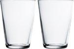Kartio glass 40 cl 2-pk klar Iittala